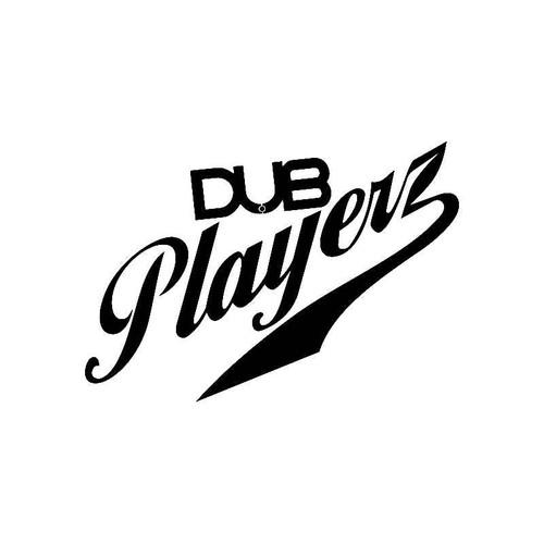 Dub Playerz Vw Jdm Vw S Decal