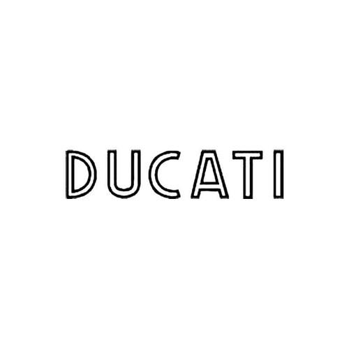 Ducati Old S Decal