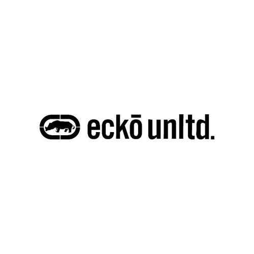 Ecko Unltd Logo Jdm Decal