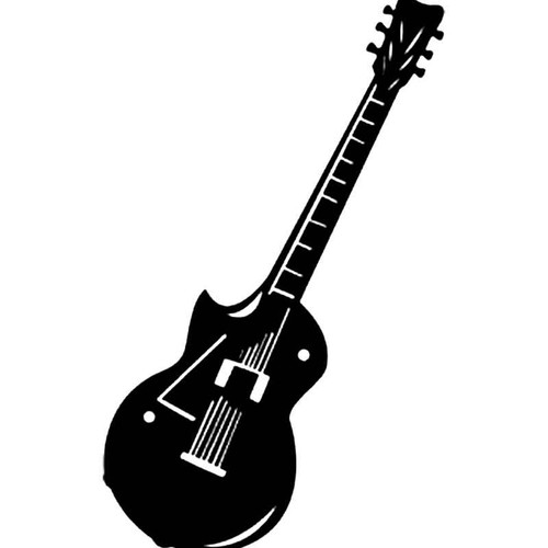 Electric Guitar S Decal
