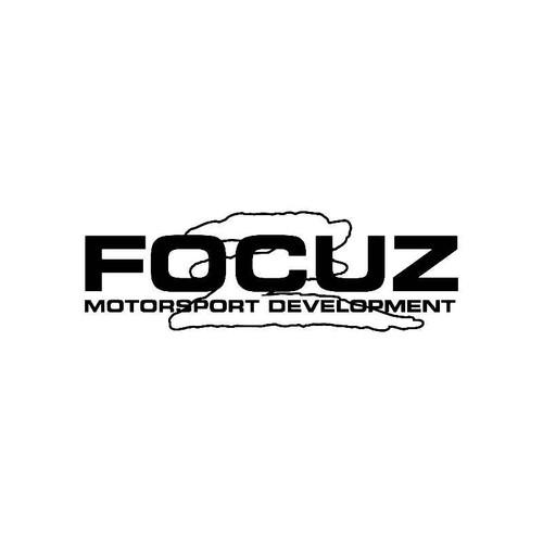 Focuz Motorsport Devel Logo Jdm Decal