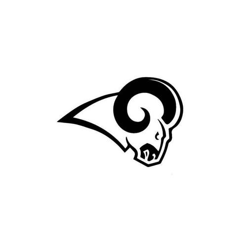 Football Nfl Los Angeles Rams Decal