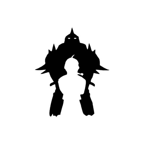 Full Metal Alchemist Elric Brothers Manga Anime S Decal