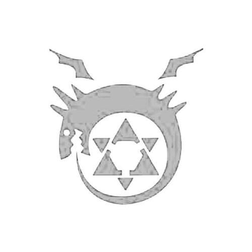 Full Metal Alchemist Homunculus Manga Anime S Decal