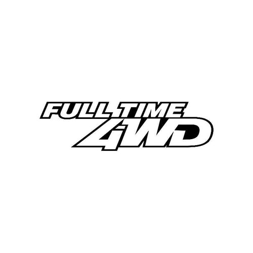 Full Time 4Wd Jdm Jdm S Decal