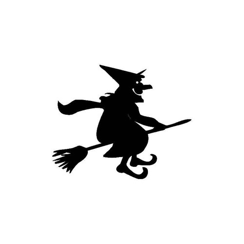 Halloween Witch 1 Decal