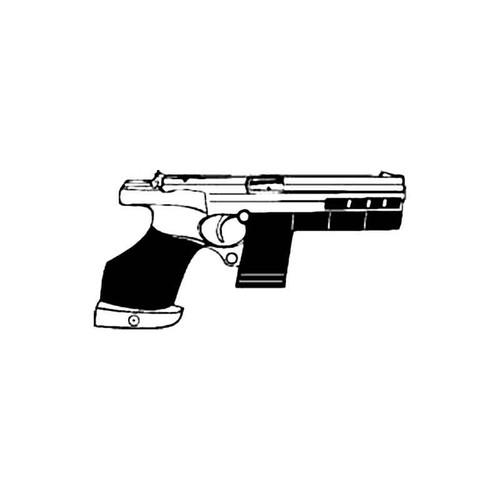 Hammerhill Target Pistol S Decal