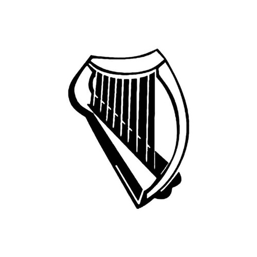 Harp B S Decal