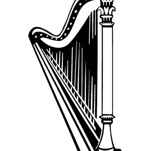 Harp S Decal