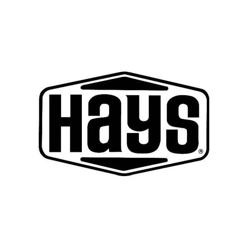 Hays Logo Jdm Decal