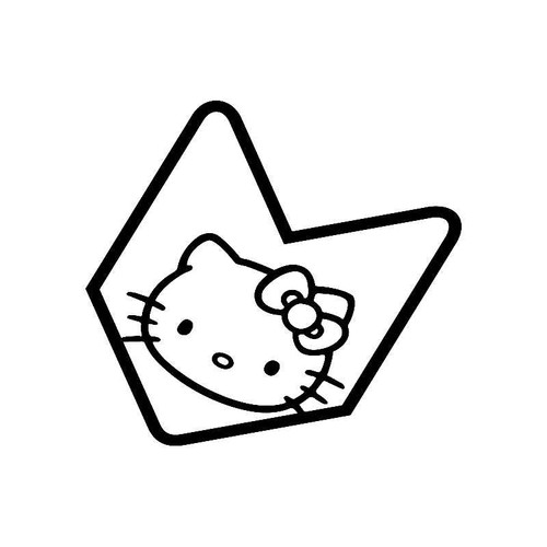 Hello Kitty Jdm Jdm Jdm S Decal