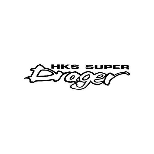 Hks Super Drager Logo Jdm Decal