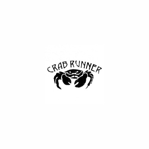 Crab Runner Decal Size option will determine the size from the longest side Industry standard high performance calendared vinyl film Cut from Oracle 651 2.5 mil Outdoor durability is 7 years Glossy surface finish