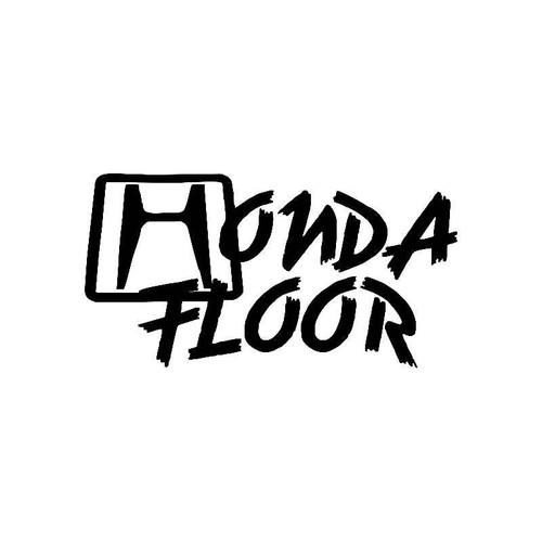 Honda Floor Jdm Jdm S Decal