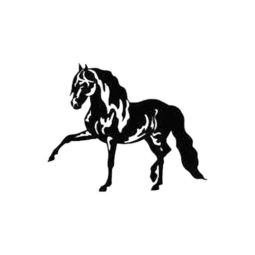 Horse B S Decal