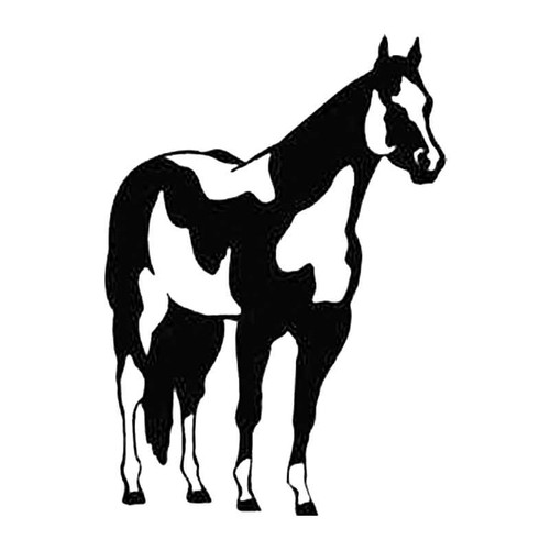 Horse L S Decal