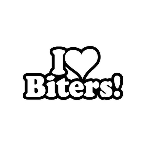 I Loveheart Biters! Jdm Jdm S Decal