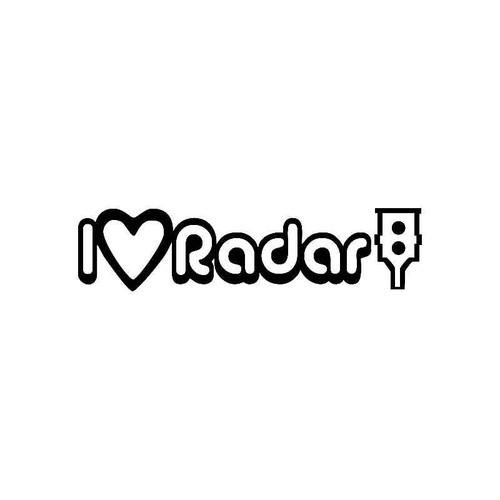 I Loveheart Radar Jdm Jdm S Decal