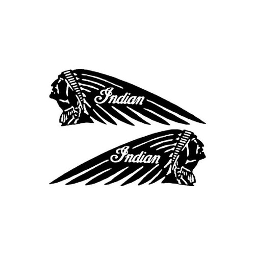 Indian Motorcycles B S Decal