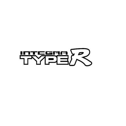 Integra Type R Logo Jdm Decal
