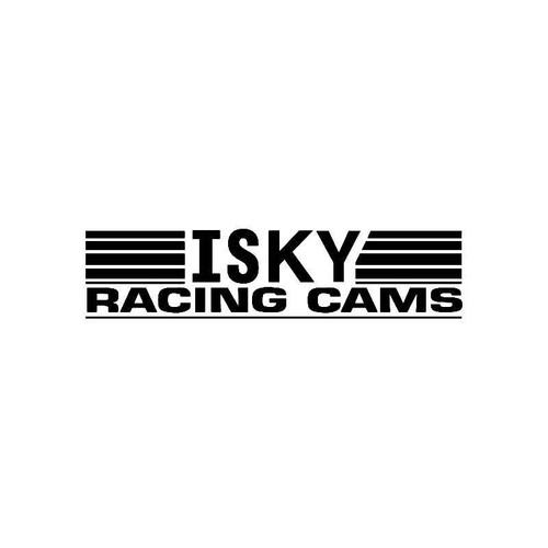 Isky Racing Cams Logo Jdm Decal