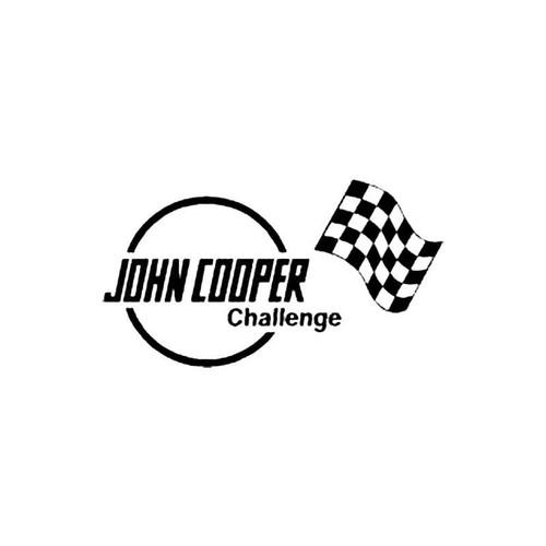 John Cooper Challenge S Decal