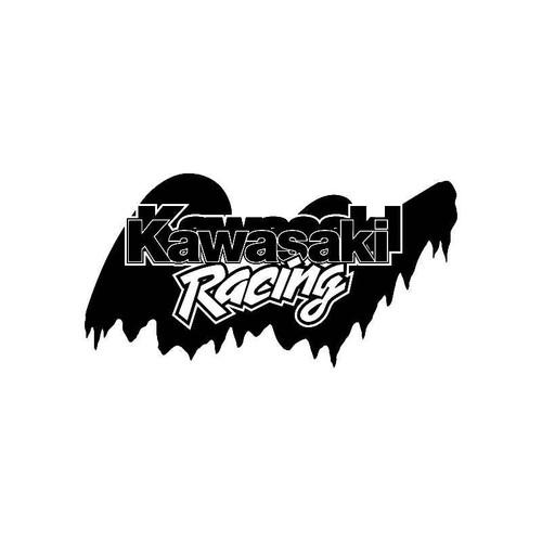 Kawasaki Racing Logo Jdm Decal