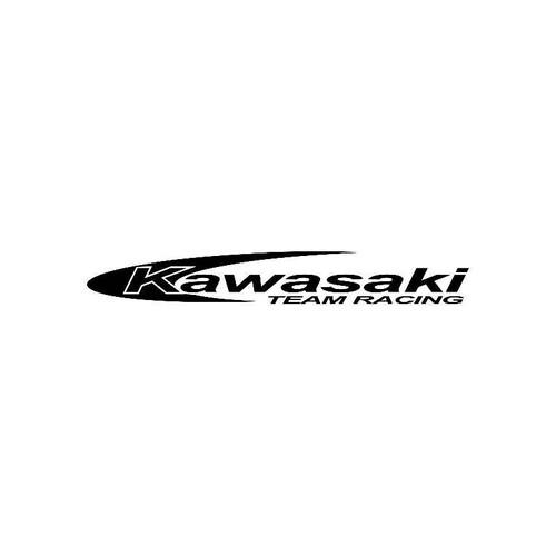 Kawasaki Team Racing Logo Jdm Decal