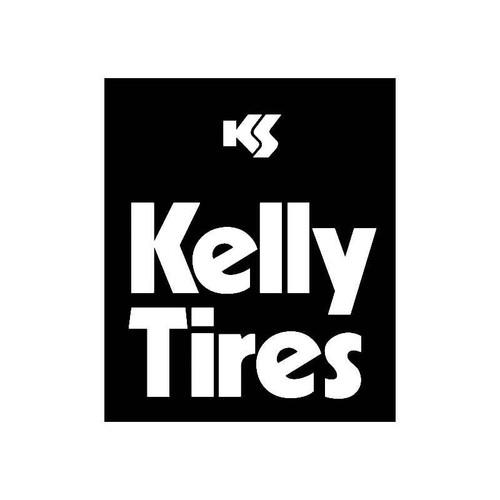 Kelly Tires Logo Jdm Decal