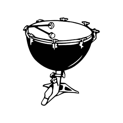 Kettle Drum S Decal
