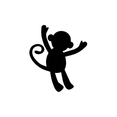 Kid Set Monkey Decal