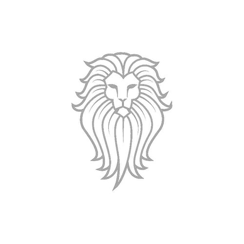 King Lion Decal