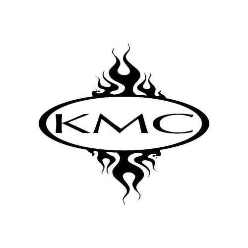 Kmc Logo Jdm Decal