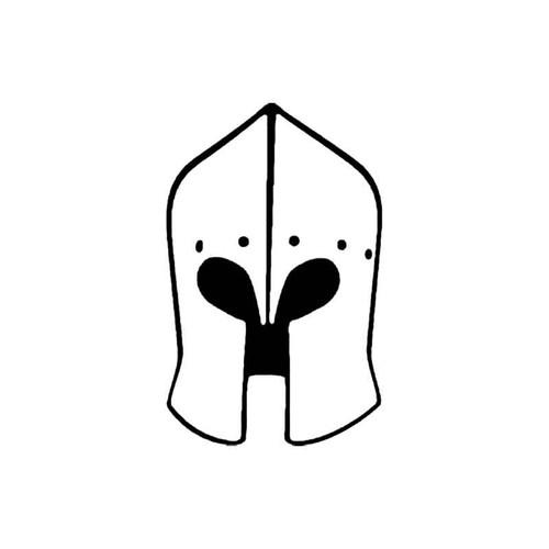 Knights Helmet C S Decal