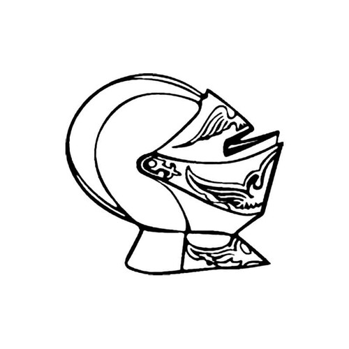 Knights Helmet E S Decal