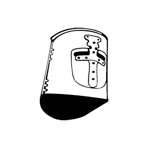 Knights Helmet F S Decal