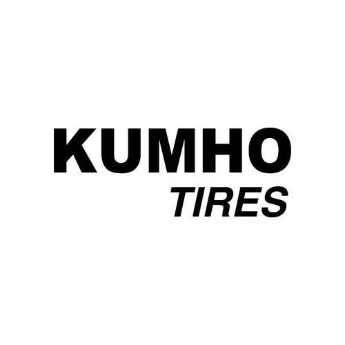 Kumho Tires Logo Jdm Decal