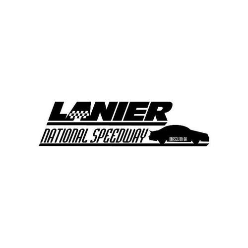 Lanier National Speedway Logo Jdm Decal