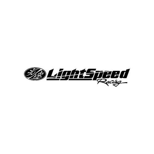 Light Speed Racing2 Logo Jdm Decal