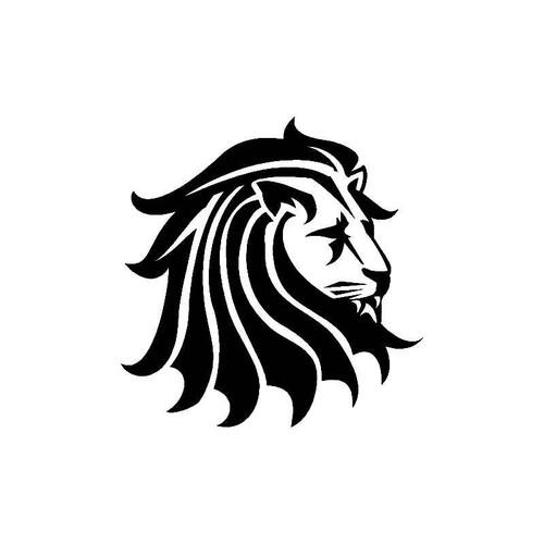 Lion Head Decal