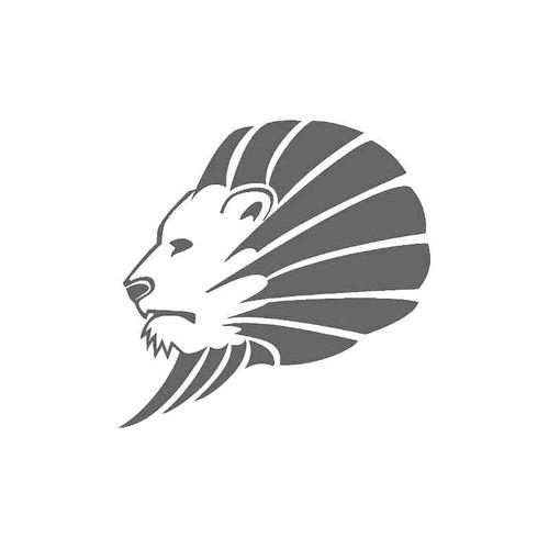 Lion Head Art Decal