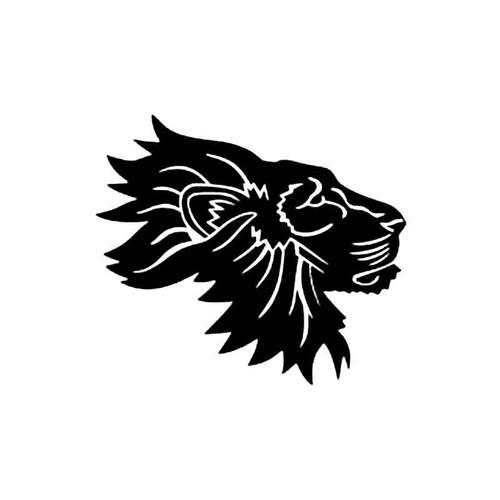 Lions Head B S Decal