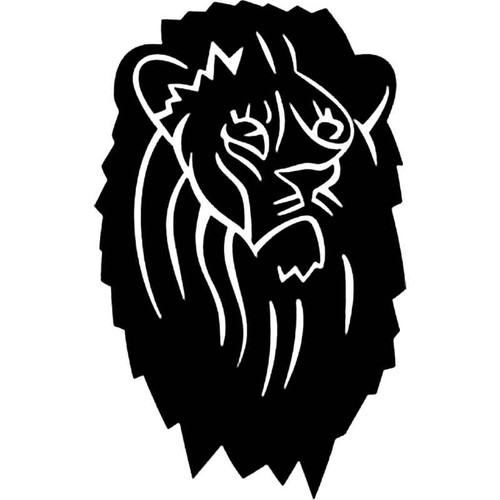 Lions Head S Decal