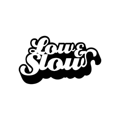 Low And Slow Jdm Jdm S Decal