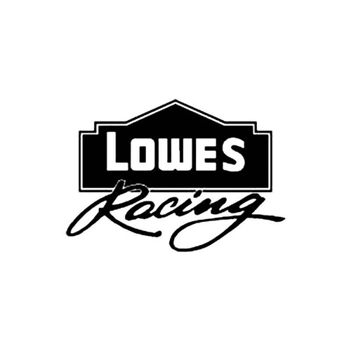 Lowes Racing S Decal