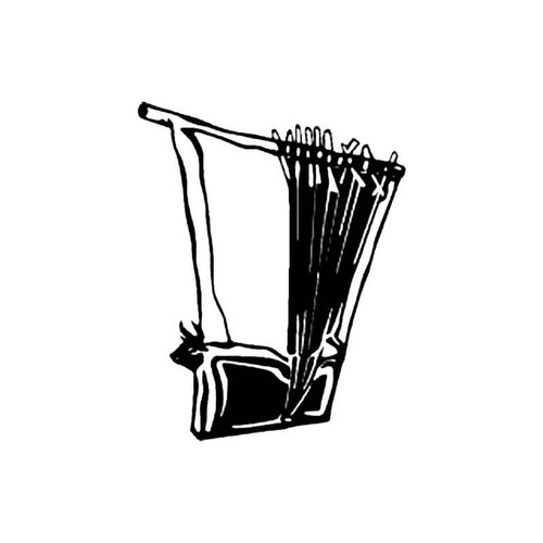 Lyre S Decal