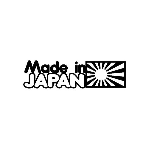 Made In Japan Jdm Jdm S Decal