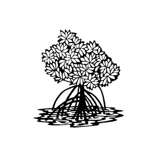 Mangrove Tree S Decal