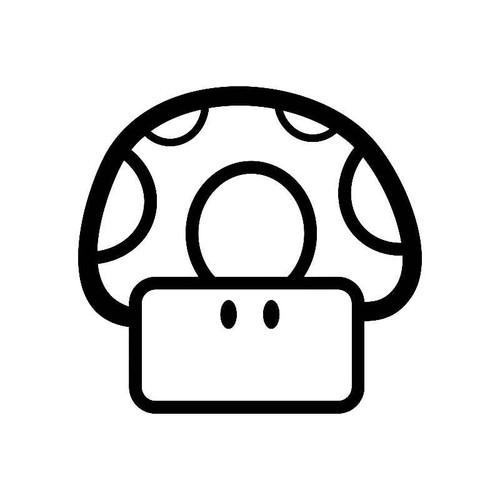 Mario Mushroom Jdm Jdm S Decal