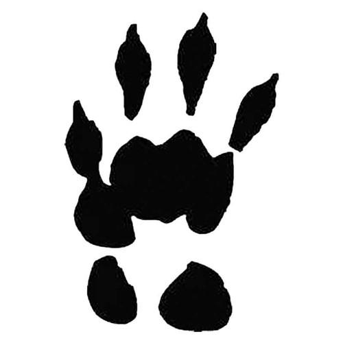 Marmot Paw Print Tracks S Decal